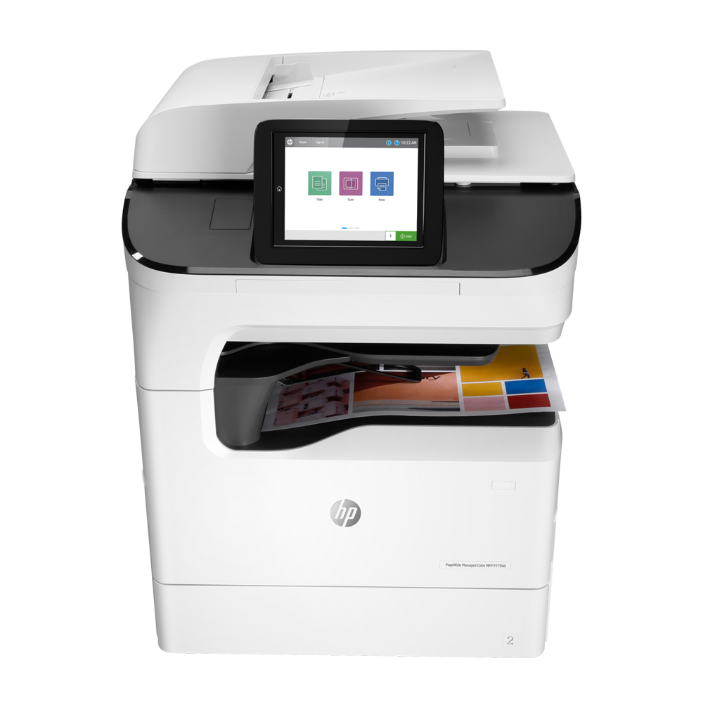 HP PageWide Managed Color MFP P77950